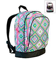 Wildkin Retro Sidekick Backpack - Pink/Multi