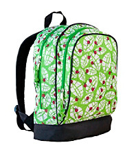 Wildkin Lady Bug Sidekick Backpack - Green