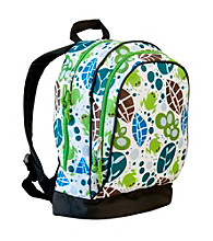 Wildkin Lily Frogs Sidekick Backpack - White/Multi