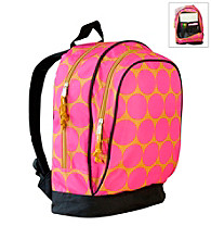 Wildkin Big Dots Sidekick Backpack - Pink/Yellow