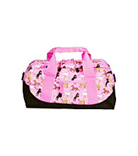 Wildkin Horses in Pink Duffel Bag - Pink