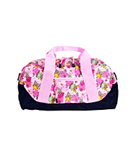 Wildkin Fairies Duffel Bag - Pink/Lavender