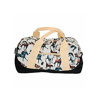 Wildkin Horse Dreams Duffel Bag - Brown