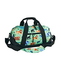 Wildkin Olive Kids Wild Animals Duffel Bag - Green