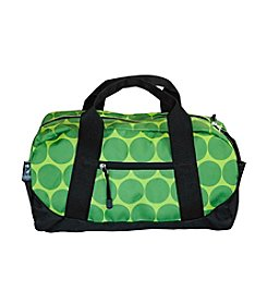 Wildkin Big Dots Green Duffel Bag - Green/Yellow