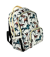 Wildkin Horse Dreams Macropak Backpack - Brown