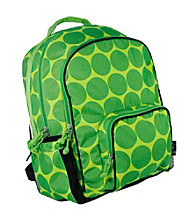 Wildkin Big Dots Green Macropak Backpack - Green/Yellow