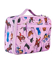 Wildkin English Riding Lunch Box - Purple