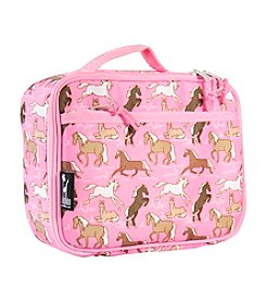 Wildkin Horses in Pink Lunch Box - Pink