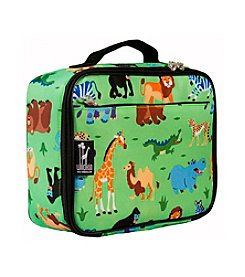 Wildkin Olive Kids Wild Animals Lunch Box - Green