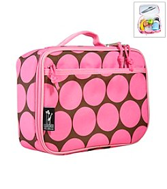 Wildkin Big Dots Lunch Box - Pink/Mocha