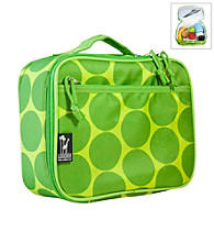 Wildkin Big Dots Lunch Box - Green/Yellow