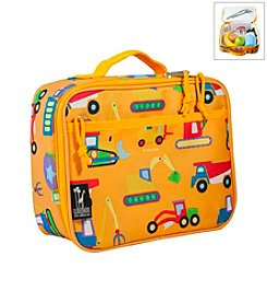 Wildkin Olive Kids Under Construction Lunch Box - Orange