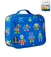 Wildkin Olive Kids Robots Lunch Box - Blue