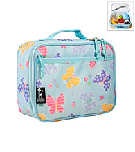 Wildkin Olive Kids Butterly Garden Lunch Box - Blue