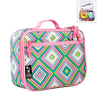Wildkin Retro Lunch Box - Pink/Multi