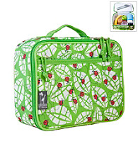 Wildkin Lady Bug Lunch Box - Green