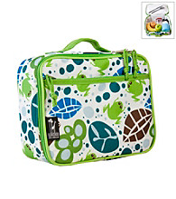 Wildkin Lily Frogs Lunch Box - White/Green