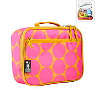 Wildkin Big Dots Lunch Box - Hot Pink/Dark Yellow