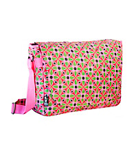 Wildkin Kaleidoscope Laptop Messenger Bag - Pink/Multi