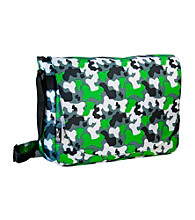 Wildkin Camo Laptop Messenger Bag - Green/Multi