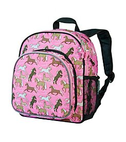 Wildkin Horses in Pink Pack 'n Snack Backpack - Pink