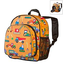 Olive Kids Under Construction Pack 'n Snack Backpack - Orange