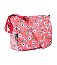 Wildkin Polka Dots Kickstart Messenger Bag - Pink/Multi