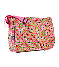 Wildkin Kaleidoscope Kickstart Messenger Bag - Pink/Multi