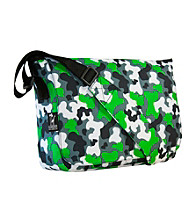 Wildkin Camo Kickstart Messenger Bag - Green/Multi