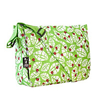 Wildkin Lady Bug Kickstart Messenger Bag - Green