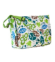 Wildkin Lily Frogs Kickstart Messenger Bag - White/Multi