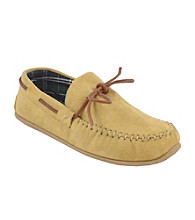 Deer Stags® Men's Slipperooz Fudd Indoor/ Outdoor Slippers - Tan