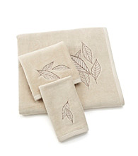 Croscill® Lacie Leaves Cotton Towel Collection