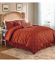 Pintuck 3-pc. Comforter Set by LivingQuarters