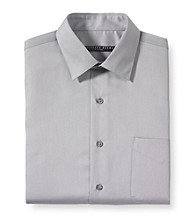 Geoffrey Beene® Men's Sateen Dress Shirt - Gun Metal