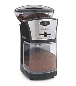 Capresso® Stainless Steel Coffee Burr Grinder