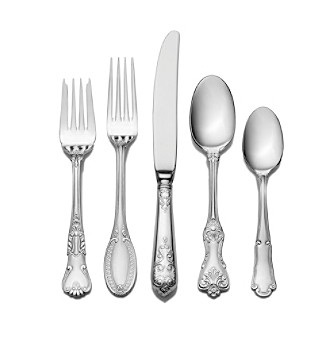 Product: Wallace® Hotel Lux 77-pc. Formal Flatware Set