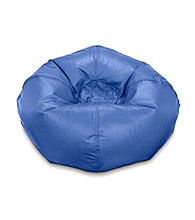 Ace Bayou Large Navy Matte Bean Bag Chair