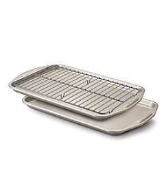 Circulon® 3-pc. Cookie Sheet Bakeware Set + Get This FREE see offer details