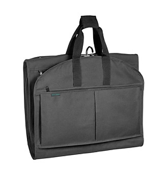 "Wally Bags® 52"" Garmen Tote® Tri-Fold with Pockets - Black"