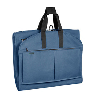 "Wally Bags® 52"" Garmen Tote® Tri-Fold with Pockets - Navy"