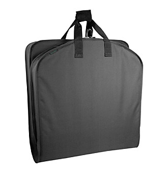 "Wally Bags 52"" Black Garment Bag with Pocket"