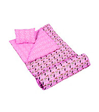 Wildkin Horses in Pink Sleeping Bag