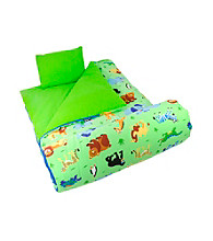 Wildkin Olive Kids Wild Animals Sleeping Bag