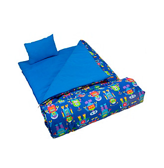 Wildkin Olive Kids Robots Sleeping Bag