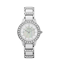 Fossil®Women's Jessie Ceramic White Watch
