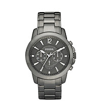 Fossil® Men's Grant Chronograph Gray Dial Watch
