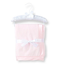 Cuddle Bear® Baby Girls' Pink Plush Blanket