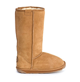 "EMU Australia™ Kids' ""Wallaby Hi"" Tall Classic Boot - Chestnut"